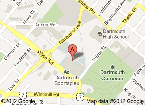Dartmouth Sportsplex Map