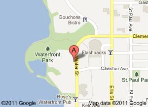 Lake City Casino Kelowna Map